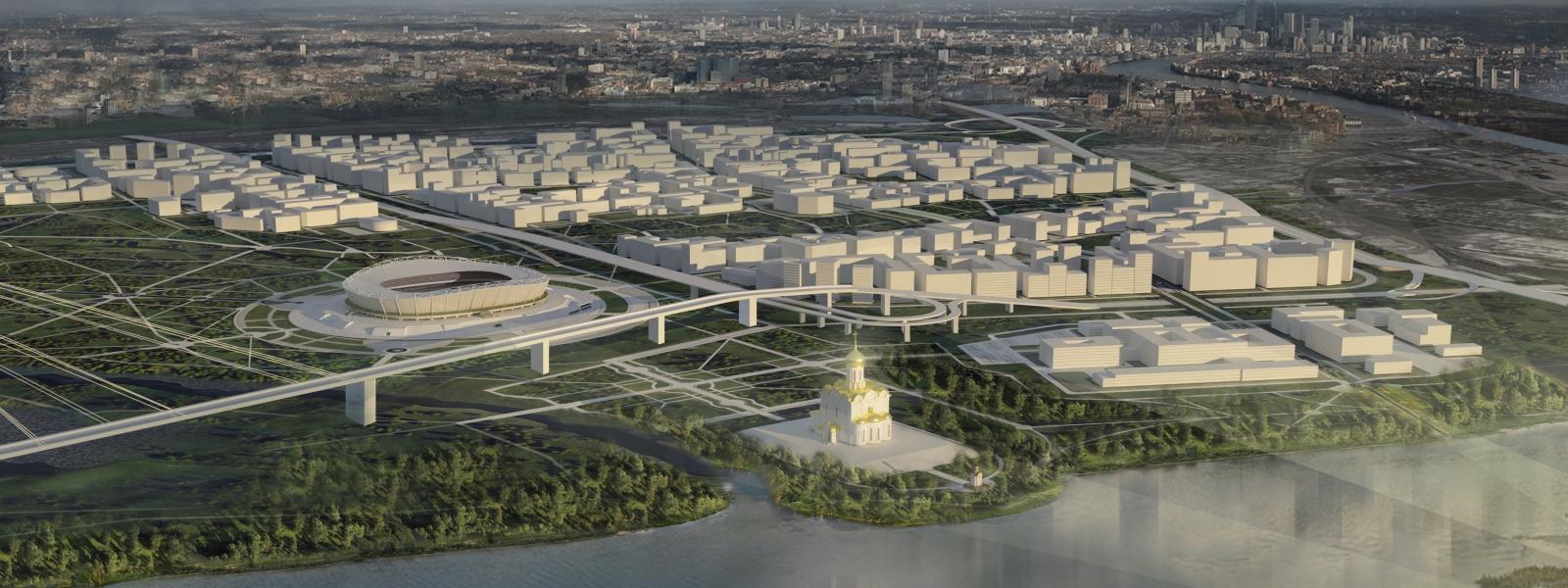 work-Проект застройки жилой территории на 40 тыс. жителей в Ленинском районе Иркутска