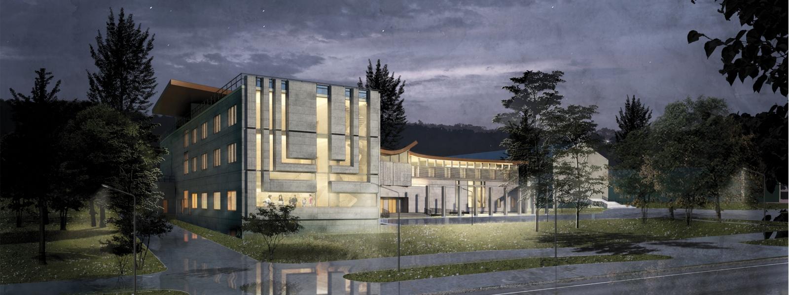 work-Проект еврейского религиозно-культурного центра в Перми