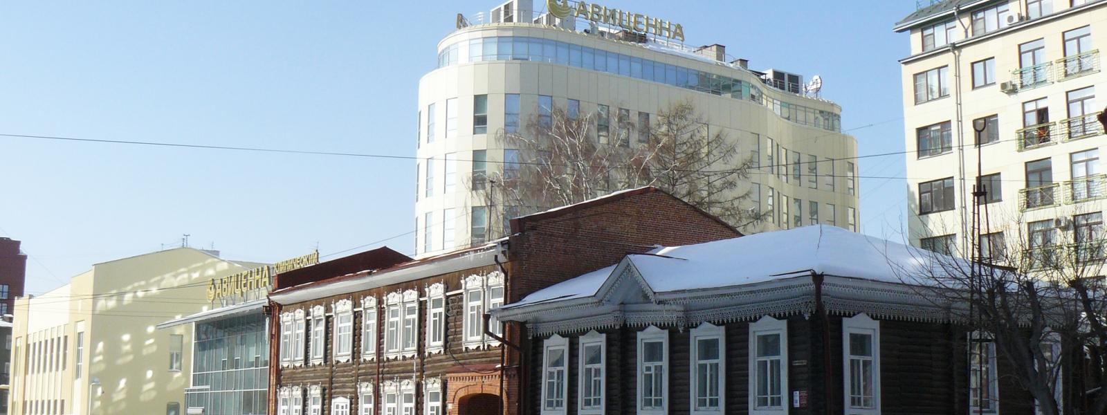 work-Центр врачебной практики с подземной автостоянкой по ул. Коммунистическая 17а в Новосибирске