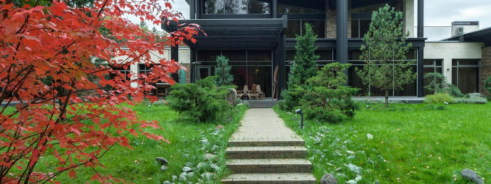 work-Индивидуальный жилой дом Wing house