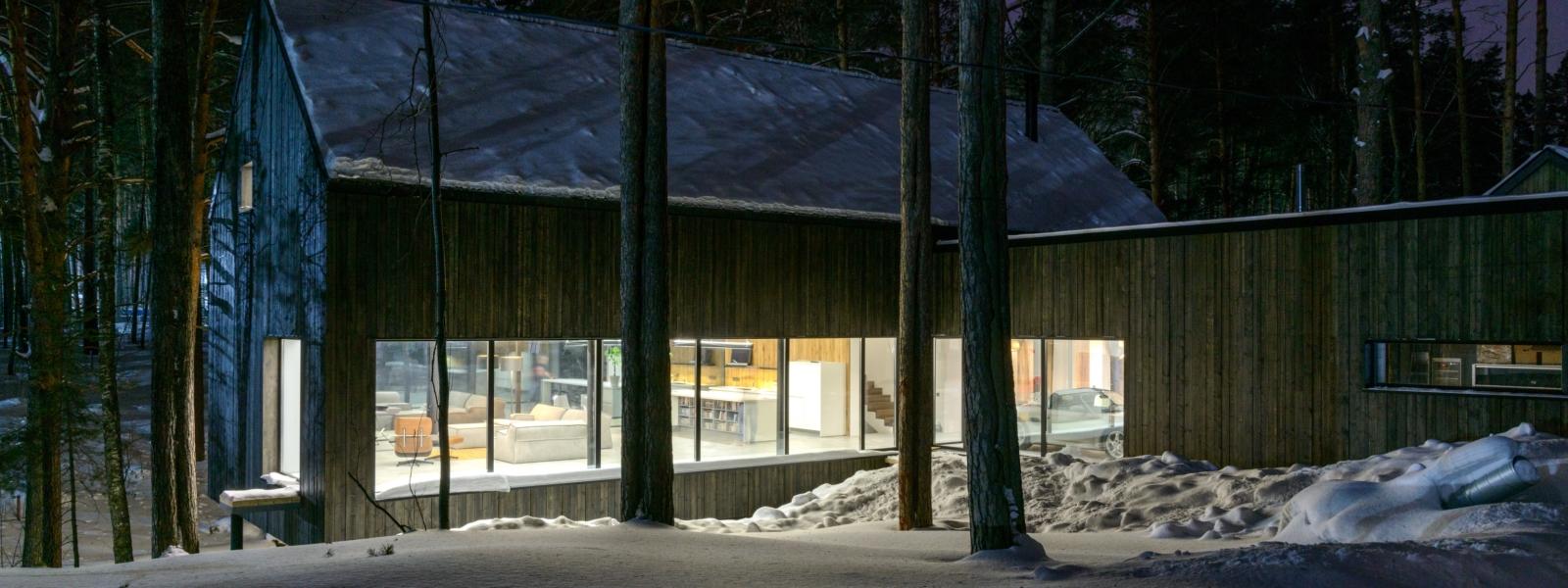 """work-Малоэтажный жилой дом в коттеджном поселке """"Европейский"""", Новосибирск"""