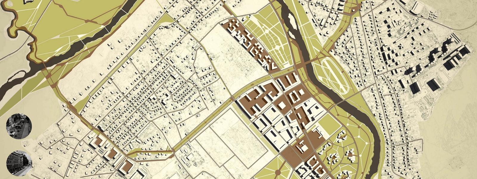 work-Концепция стилевого и типологического разнообразия городской среды нового посада Звенигорода