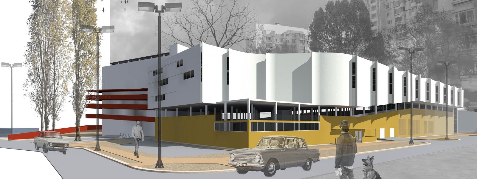 work-Многоэтажный гараж в Самаре