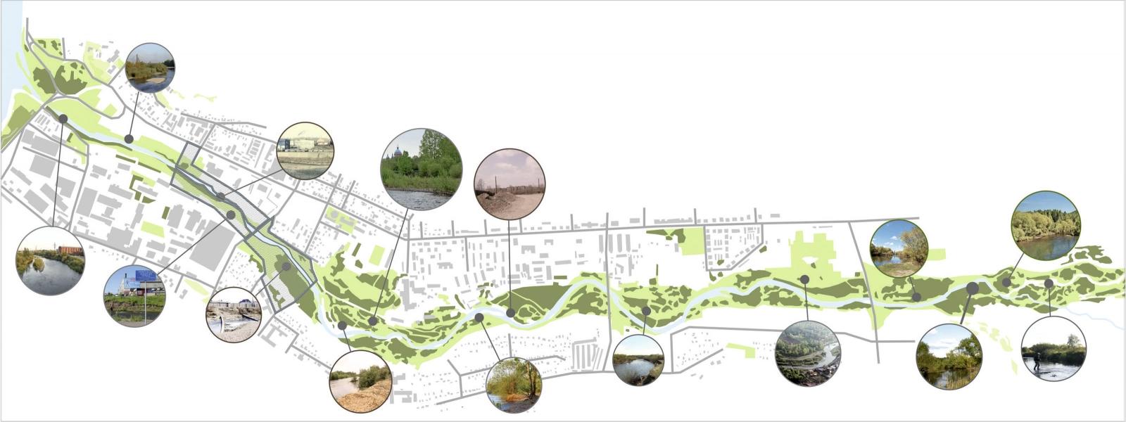 work-Концепция общественного пространства реки Ушаковка в Иркутске