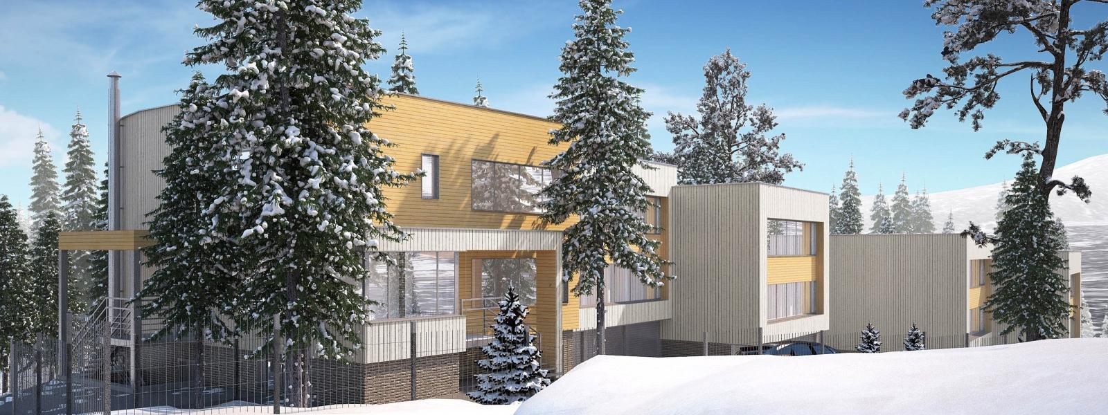 work-Проект мини-отеля для туристов, п. Шерегеш, Кемеровская область